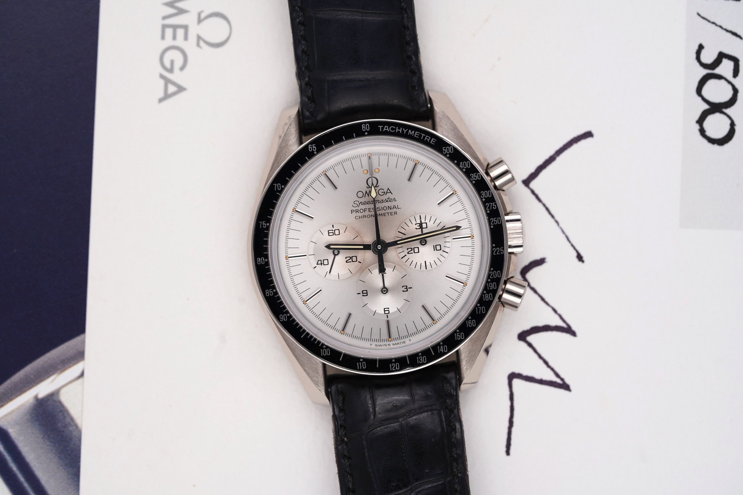 Omega-Speedmaster-Apollo-XI-White-Gold-3692.30