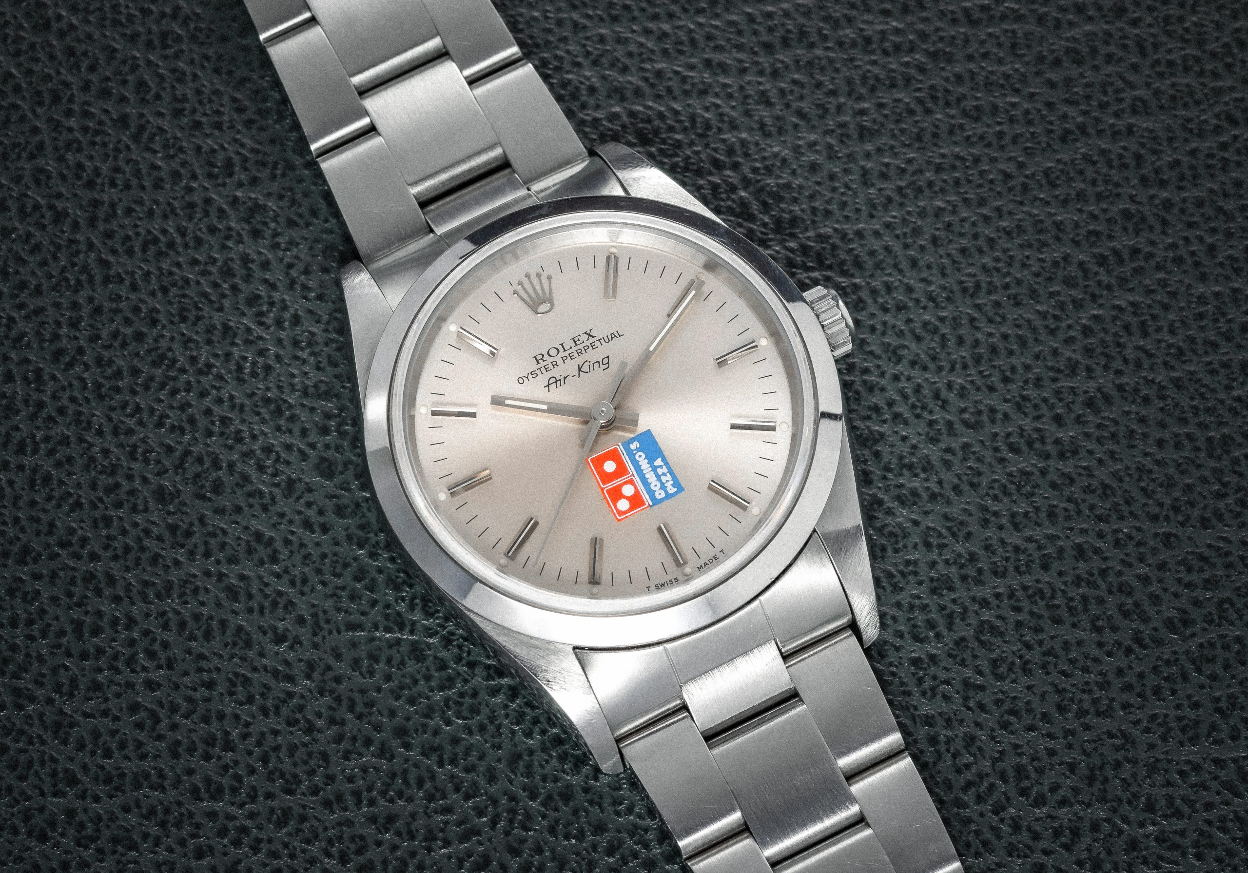 Rolex-14000-Air-King-Domino's-Dial